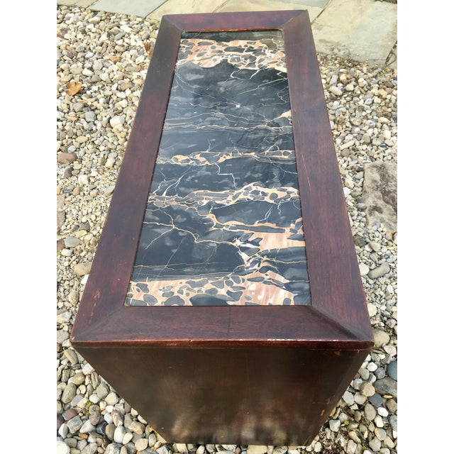 50's Marble Top Bar Cabinet - Image 7 of 11