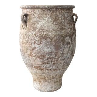 """Terracotta Greek """"Vintage Wash"""" Planter For Sale"""