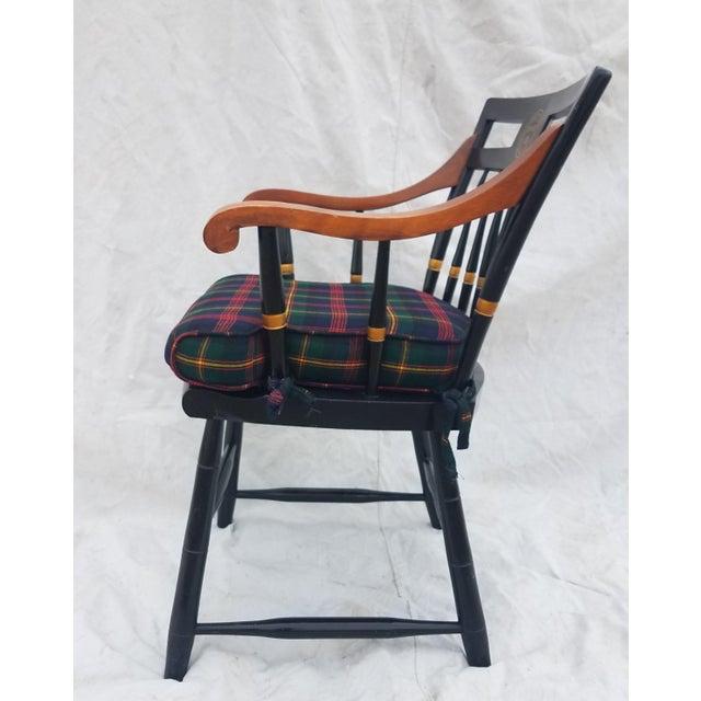 Harvard University Veritas Nichols & Stone Captain's Chair For Sale - Image 10 of 12