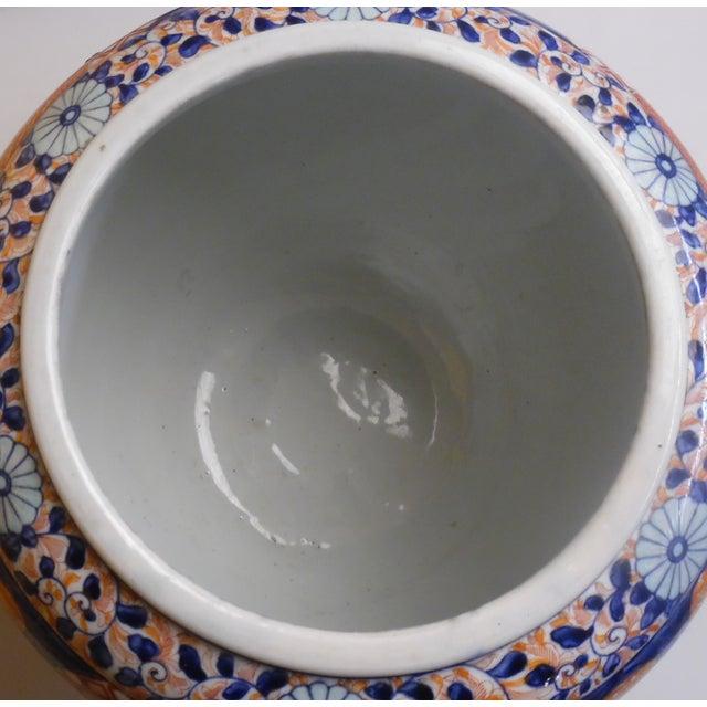 Japanese Imari Fish Bowl For Sale - Image 9 of 13