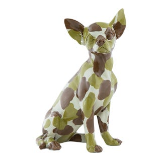 """Interior Illusions Plus Camouflage Chihuahua 10"""" tall For Sale"""
