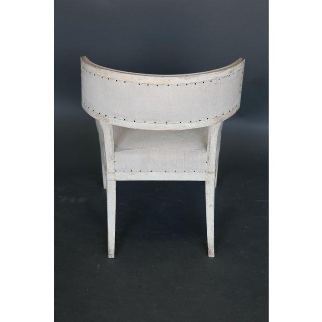 Antique 18th Century Large Gustavian Klismos Chair - Image 5 of 6