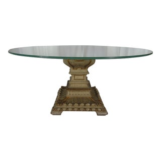 19th Century Neoclassical Italian Dining Table Base For Sale