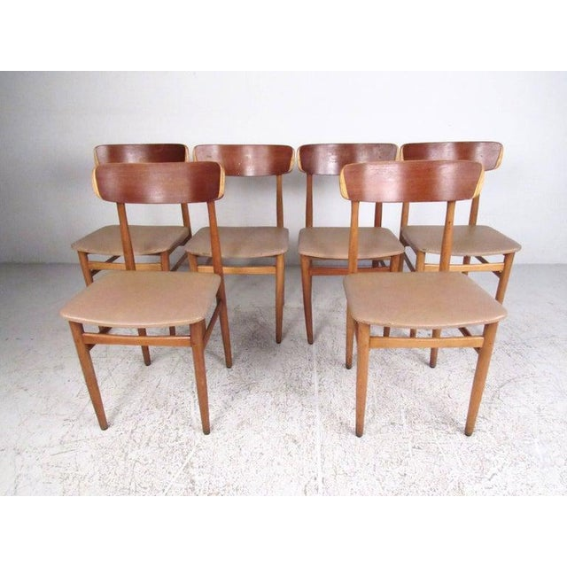 Set of Mid-Century Modern Bentwood Dining Chairs For Sale - Image 9 of 9