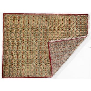 Antique Persian Isfahan Area Rug - 5′ × 6′9″ Preview