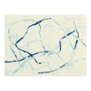 Abstract Painting, Watercolor Ribbons For Sale