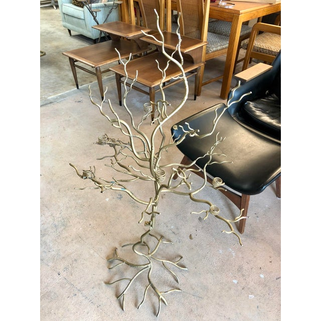 Contemporary Large Gold Candle Tree For Sale In Charleston - Image 6 of 6