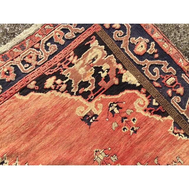 Vintage Faded Red Anatolian Rug 6 4 215 9 1 Chairish