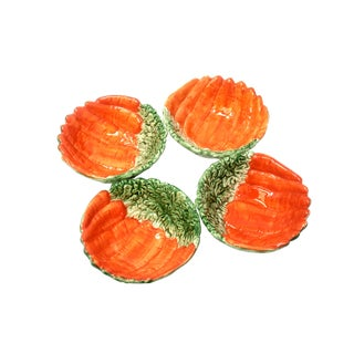 Fitz & Floyd Vegetable Garden Carrot Bowls - Set of 4