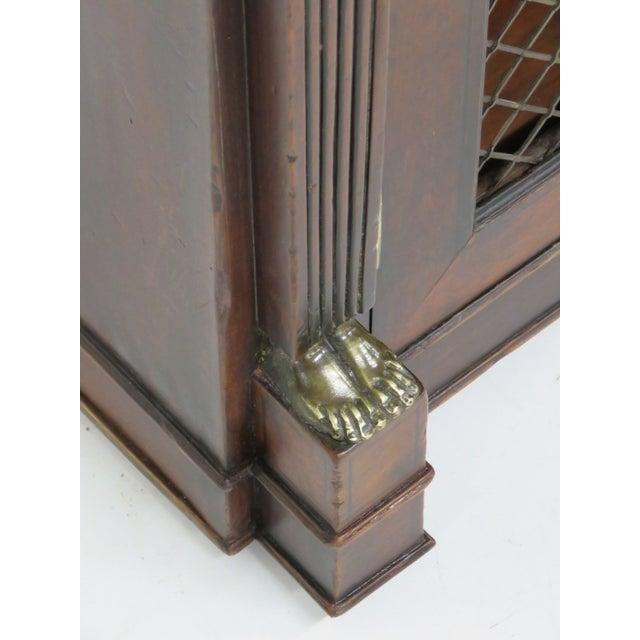 Antique 19th C. Regency Style 2-Door Cabinet - Image 5 of 6