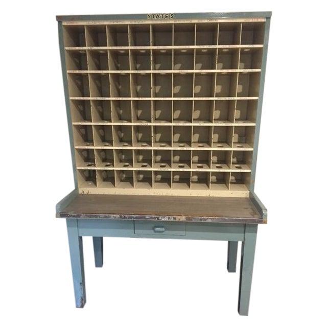 Vintage Postal Cabinet - Image 1 of 11