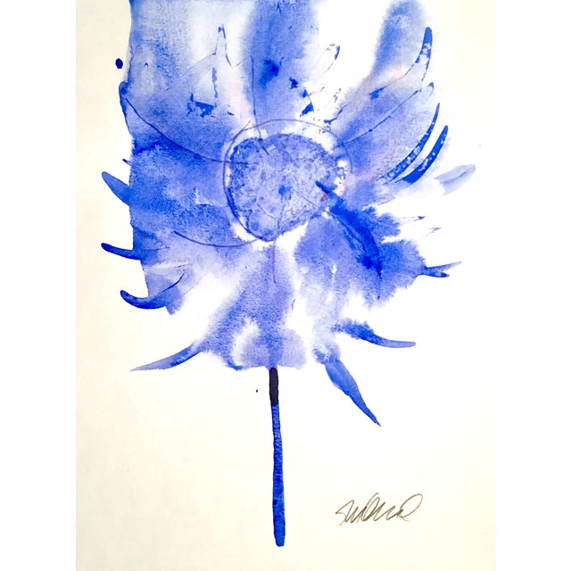 'Swiffer' Botanical Watercolor Painting - Image 2 of 3