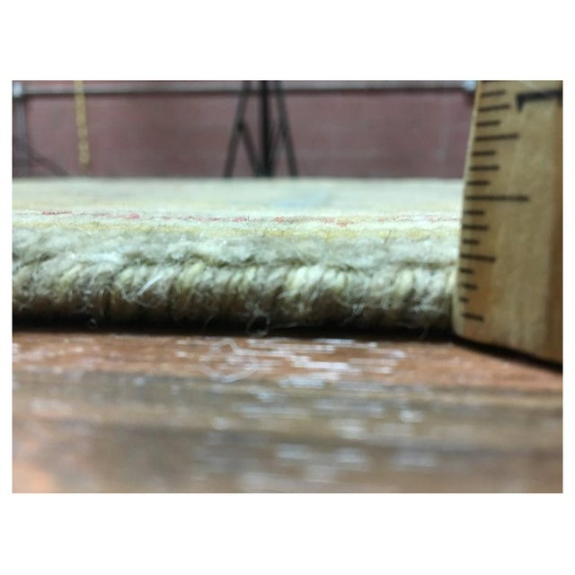 """Peshawar Hand Knotted Oriental Area Rug - 7'7""""x10' For Sale - Image 9 of 10"""