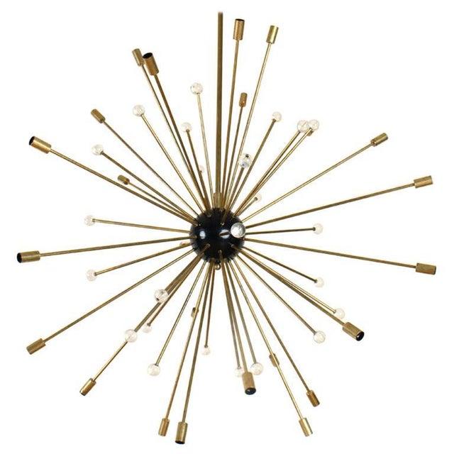 1960s 1960s Large Mid-Century Modern Sputnik Chandelier For Sale - Image 5 of 5