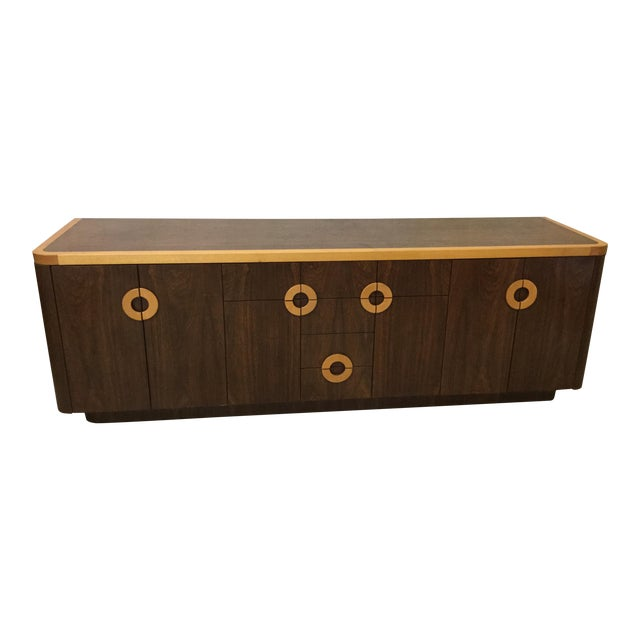 Willy Rizzo Style Wood Credenza For Sale - Image 12 of 12