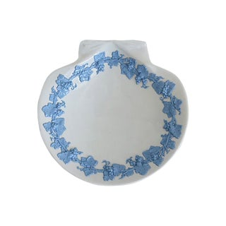 Vintage Wedgwood Queensware Shell Serving Dish For Sale