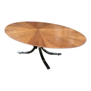 Borsani Starburst Wood Top Dining Table