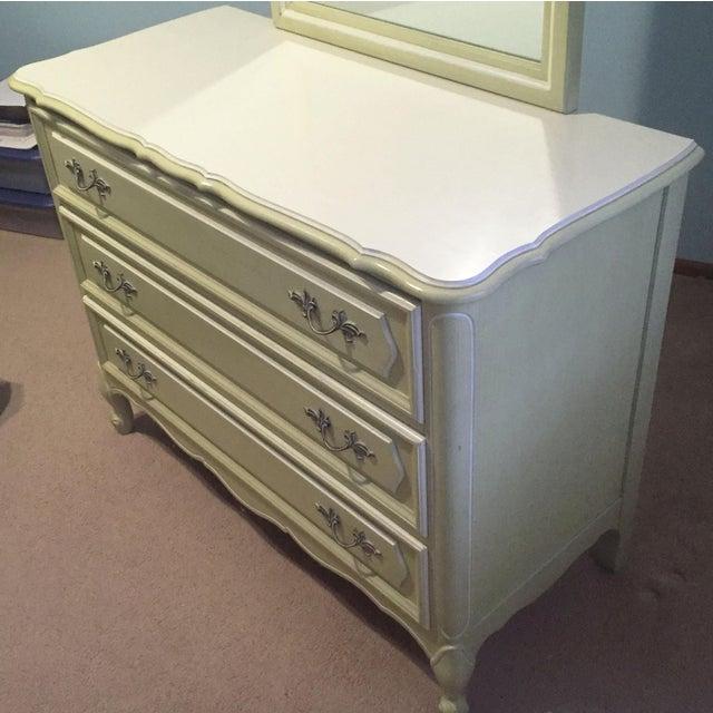Lowboy Dresser 3 Drawer Vintage 1960s Henry Link French Provincial Bedroom Furniture 1 Of