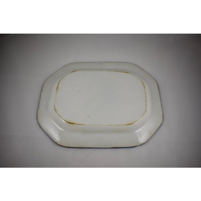 English Leeds Feather or Shell Edge pearlware Platter - Image 7 of 9
