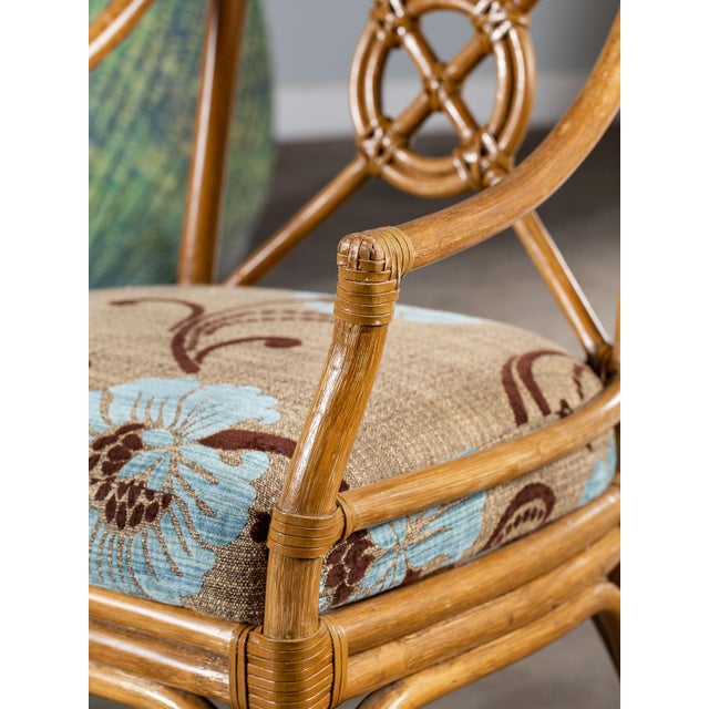 1970s Vintage McGuire Bamboo Target Design Chairs - a Pair For Sale - Image 11 of 13