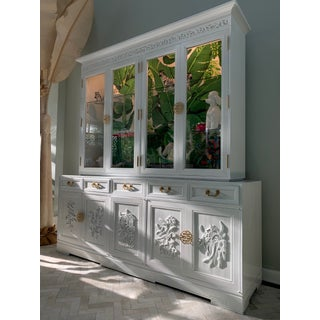 Asian Chinoiserie China Cabinet by Ricardo Lynn Preview