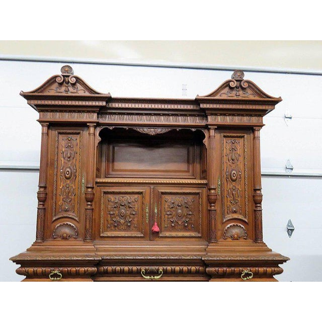 Renaissance Renaissance Style Carved Cupboard For Sale - Image 3 of 8