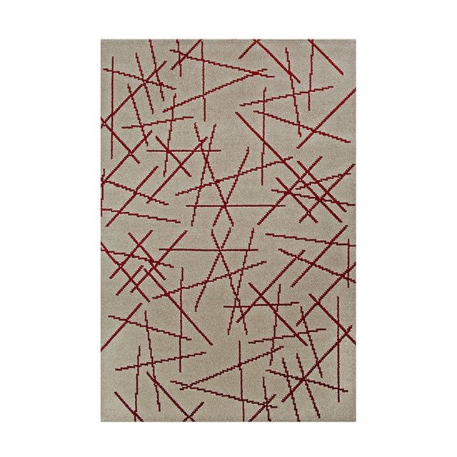 Abstract Polansky Rug From Covet Paris For Sale - Image 3 of 3