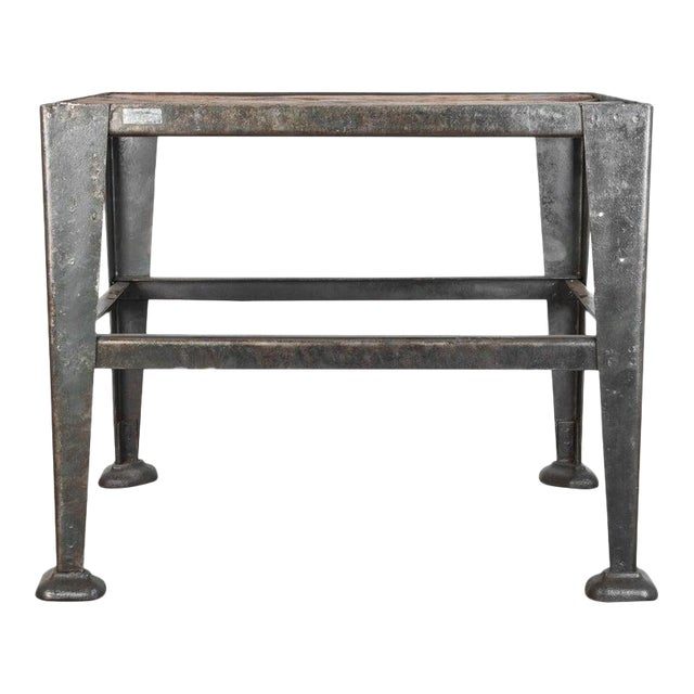 Mid-20th Century Industrial Czech Table For Sale