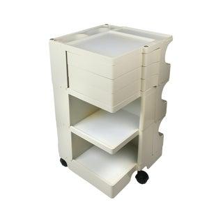 White Boby Cart by Joe Colombo for Bieffeplast For Sale