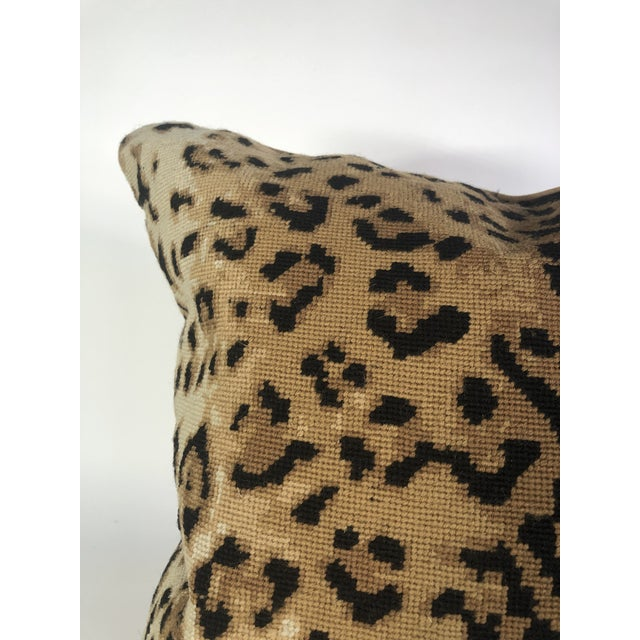 Boho Chic Boho Chic The Big Leopard Pillow For Sale - Image 3 of 9