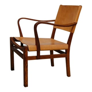 Lounge Chair Designed by Axel Einar Hjorth For Sale