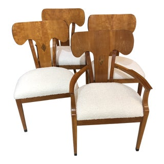 Late 20th Century Councill Chairs - Set of 4 For Sale