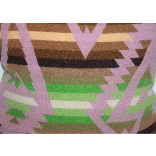 Pendleton Plaid Pillow For Sale - Image 4 of 6