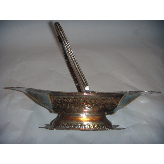 Leviathan Silver Plate Fruit Basket - Image 6 of 10