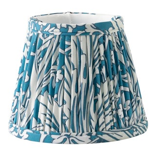 "Woodland 6"" Lamp Shade, Blue For Sale"