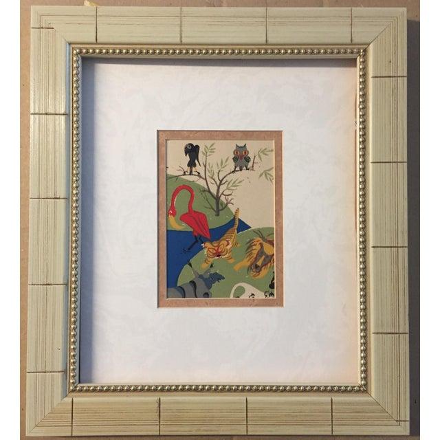 Original Vintage Animal Lithograph For Sale - Image 4 of 4