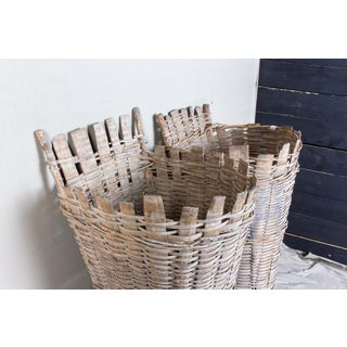 Antique French Vineyard Harvest Baskets - a Pair Preview