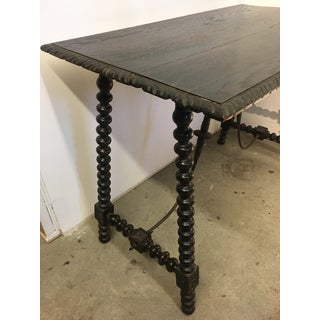 18th Century Spanish Baroque Trestle Table Preview