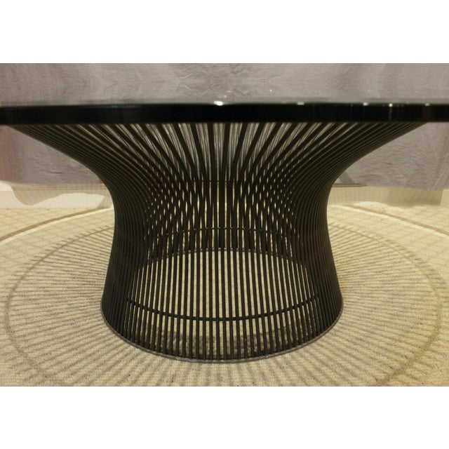 Warren Platner 1960s Mid-Century Modern Knoll Coffee Table For Sale - Image 4 of 5