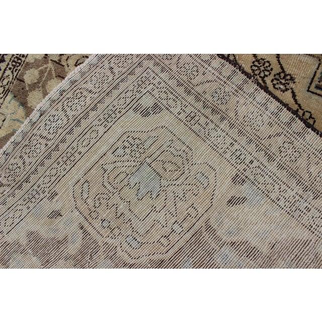 Semi Antique Lilihan Rug - 4′3″ × 6′9″ For Sale - Image 12 of 13