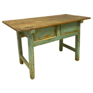 Antique Rustic Spanish Distressed Farmhouse Work Table Preview