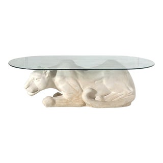 Panther Coffee Table For Sale