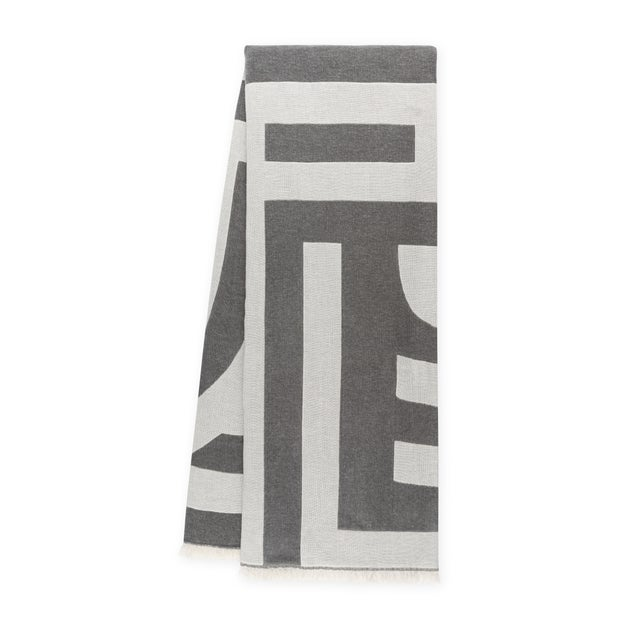 Mid-Century Modern Deco Throw For Sale - Image 3 of 3