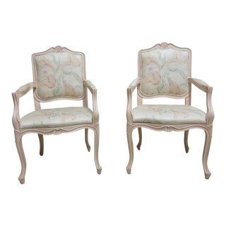 Vintage French Carved Casa Stradivari Dining Chair
