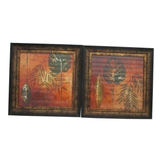 Pair of Art Deco Style Prints Framed For Sale