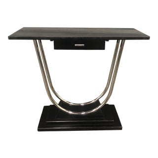 1930's Wolfgang Hoffman for Howell Console Table For Sale