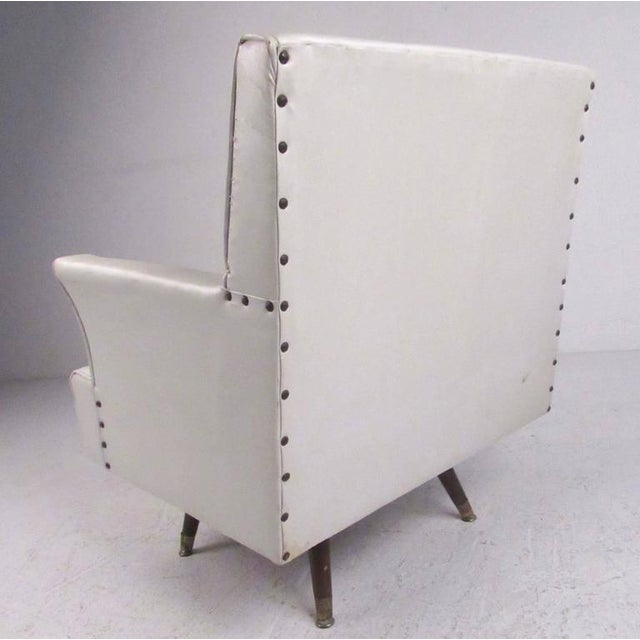 Admirable Mid Century Swivel Rocker Lounge Chair Machost Co Dining Chair Design Ideas Machostcouk