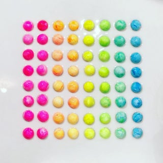 Original Sculptural Candy Dots Painting For Sale