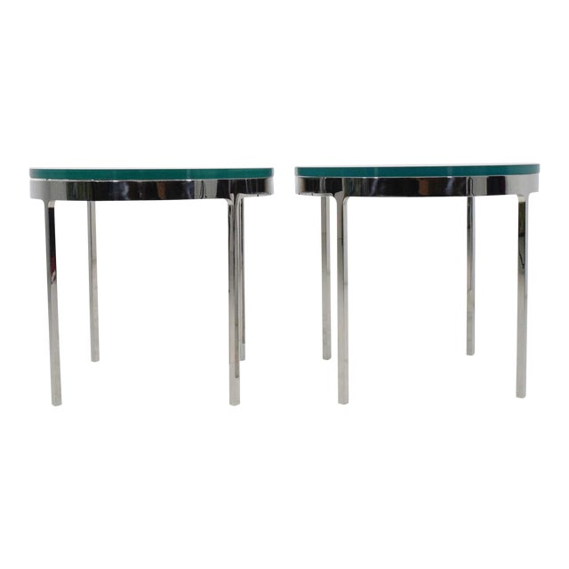 Nicos Zographos Side Tables - A Pair For Sale