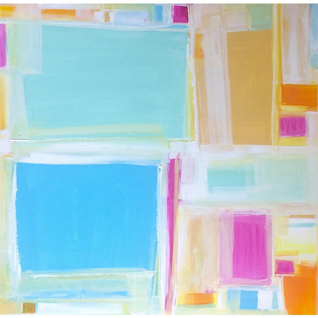 'MADRAS' Original Abstract Painting by Linnea Heide - Image 1 of 7